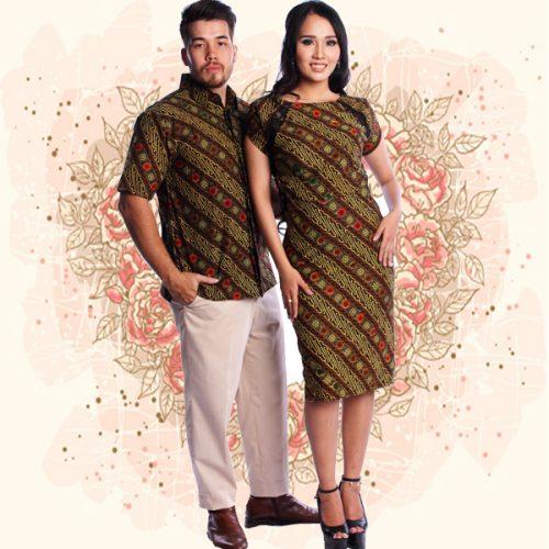 04 Batik Couple Modern Parang Koin Kombinasi Tulis (1)