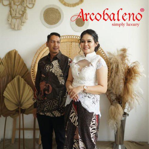 Testimoni Arcobaleno Couple Kebaya Lamaran modern